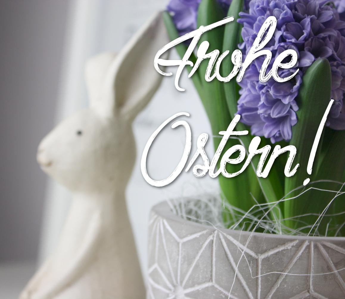 Fräulein Stressfrei wünscht frohe Ostern!