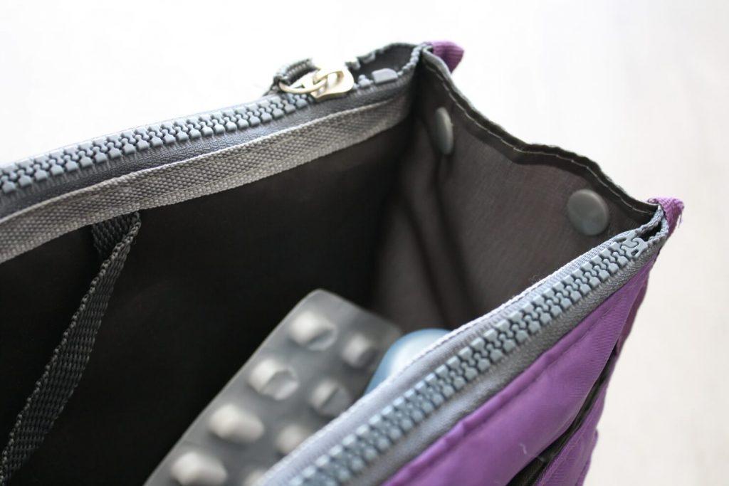 Handtaschenorganizer lila