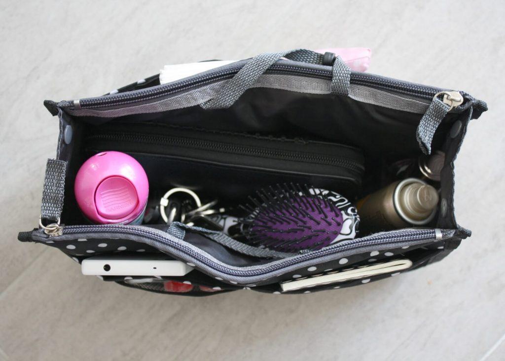 Ordnung in der Handtasche oder dem Shopper