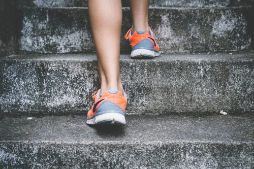 Laufen Joggen als Stressbewältigung