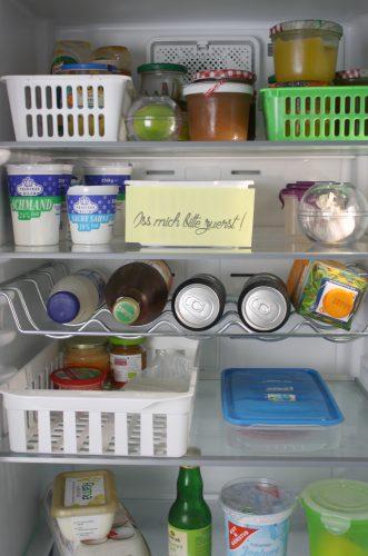 Kühlschrankorganisation Ordnung