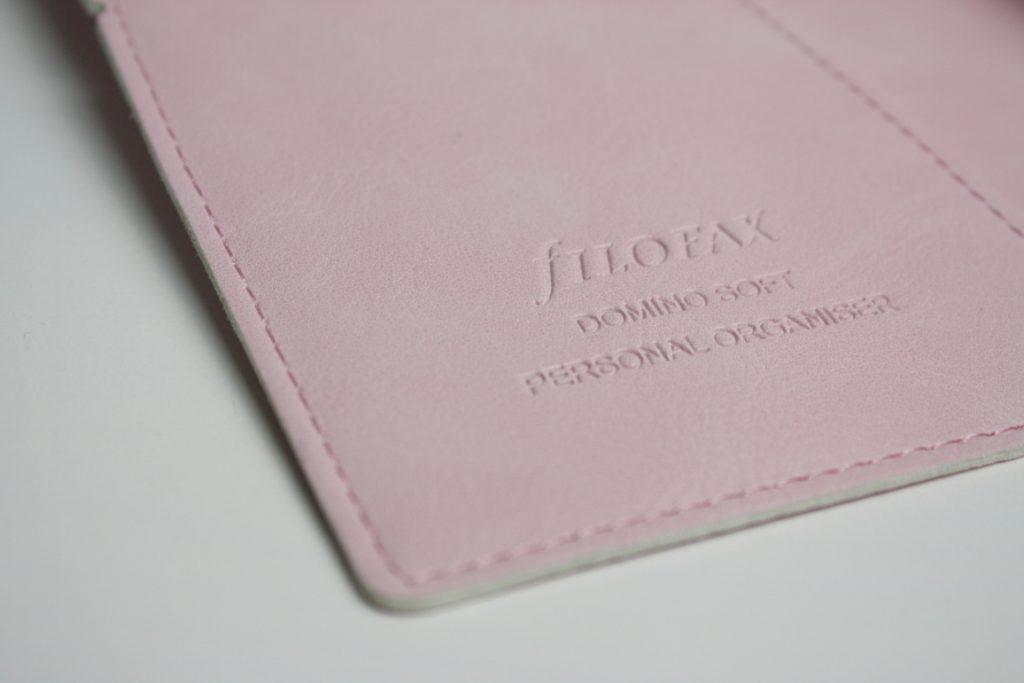 Filofax Domino Soft Rosa Personal Organiser