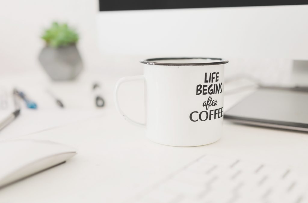 Life begins after Coffee Photo by BRUNO CERVERA on Unsplash