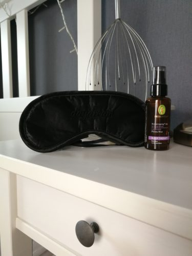 Kopfkissenspray von Primavera, Entspannung, Schlafmaske, Kopfmassage