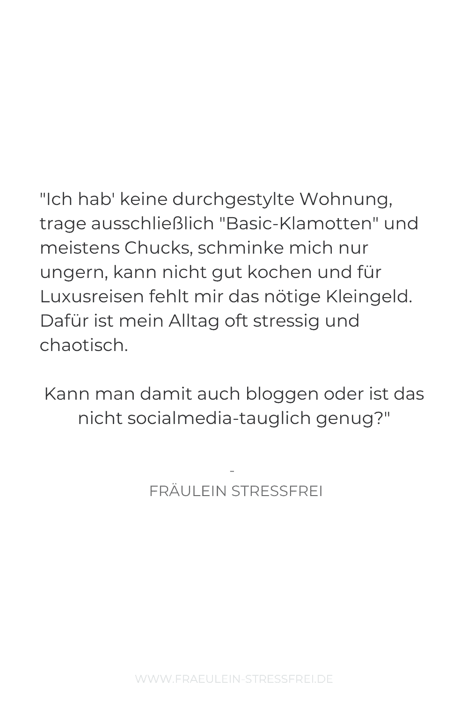 Zitat Fräulein Stressfrei