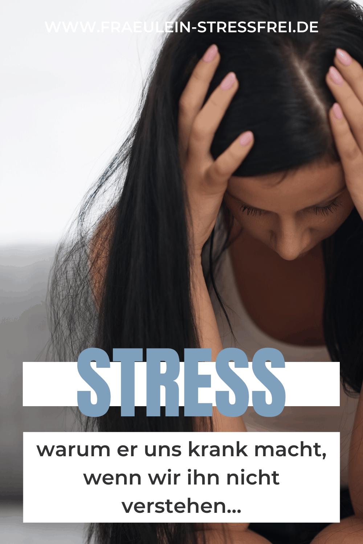 Stress verstehen - warum er uns krank machen kann, wenn wir nichts über ihn wissen. Lest hier über den Unterschied von gutem und schlechtem Stress. Eustress und Distress sollten keine Fremdwörter sein.