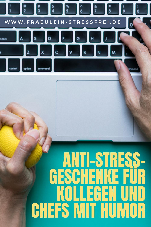 Anti-Stress-Geschenke für Kollegen oder Chefs mit Humor