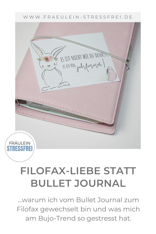 Mein Weg vom Bullet Journal zum Filofax. Was mich am Bujo-Trend so gestört und gestresst hat und warum ich zum Filofax gewechselt bin. Seitdem herrscht hier große Filofax-Liebe. Dem stressfreien Planen des Alltags steht nun nichts mehr im Wege.