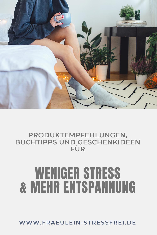 Bücher, Geschenkideen, Produktempfehlungen und mehr für ständig gestresste Menschen. Anti-Stress-Produkte für weniger Stress und mehr Entspannung im Alltag. Hier findest du auf jeden Fall das passende Anti-Stress-Geschenk für jedermann.
