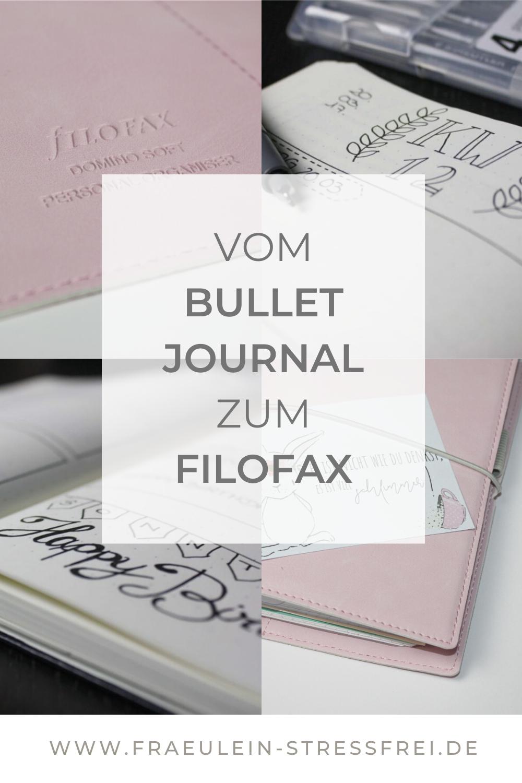 Mein Weg vom Bullet Journal zum Filofax. Was mich am Bujo-Trend so gestört und gestresst hat und warum ich zum Filofax gewechselt bin. Seitdem herrscht hier große Filofax-Liebe.