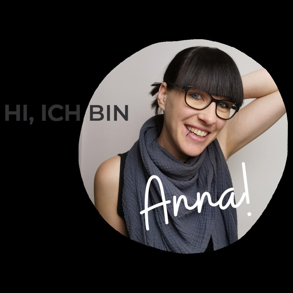 hi, ich bin Anna Fräulein Stressfrei stellt sich vor