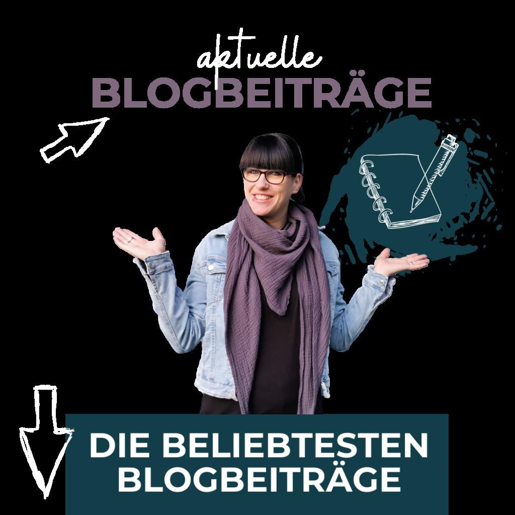 Link zu den aktuellen Blogbeiträgen Fräulein Stressfrei