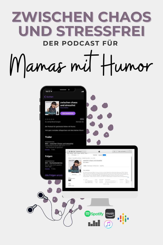 Zwischen Chaos und stressfrei - der Podcast für gestresste Mamas mit Humor. Vom ganz normalen Alltagschaos und dem kleinen Wunsch nach Mehr. Hier gibt's einen Mix aus Momlife, Mindset und Stressbewältigung für Mamas. Der etwas andere Podcast von Fräulein Stressfrei.