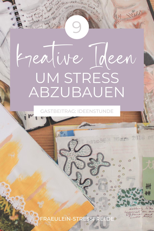 Neun kreative Ideen um Stress abzubauen. Stressbewältigung durch Kreativität? Ja, klar. Das geht. Sogar wenn du denkst, du bist unkreativ. Sich kreativ auszutoben kann den Stresslevel ziemlich senken. Probier doch einfach mal was neues aus. Ideen für kreative Stressbewältigung findest du hier im Beitrag.